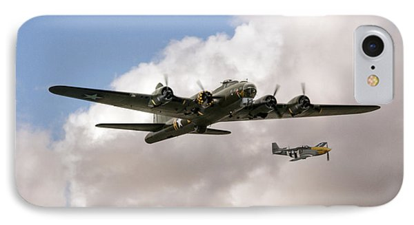 B17 And P51 IPhone Case by J Biggadike