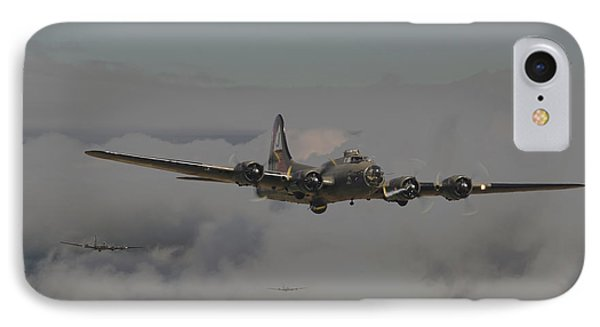 B17 Outbound - 'heavy Weather' Phone Case by Pat Speirs