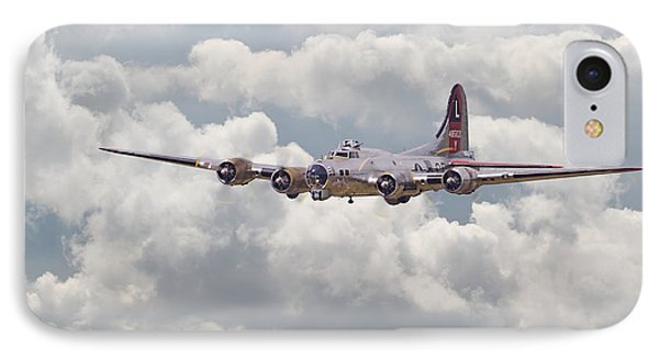B17- Yankee Lady IPhone Case by Pat Speirs