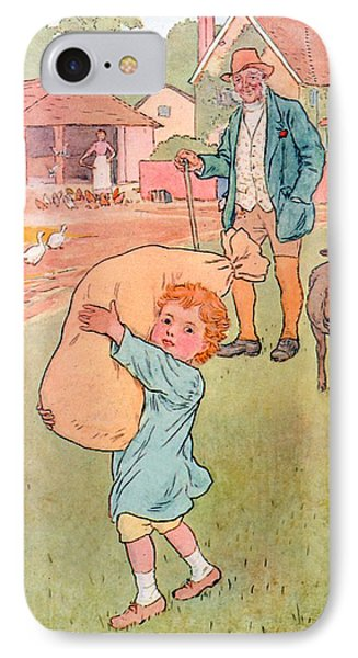 Baa Baa Black Sheep Phone Case by Leonard Leslie Brooke