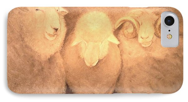 Baa Humbug IPhone Case by Mary Lynne Powers