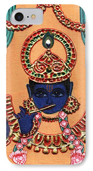 Baansuri Krishna IPhone Case