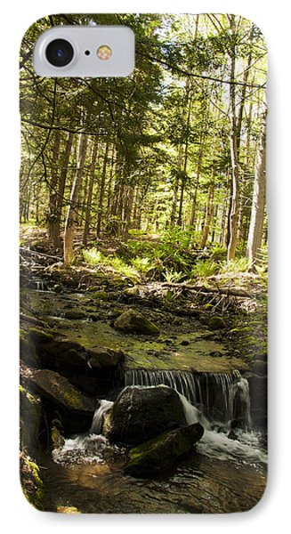 IPhone Case featuring the photograph Babbling Battie Brook by Daniel Hebard