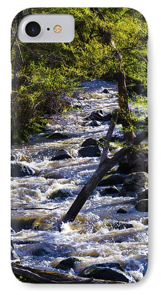 Babbling Brook Phone Case by Bill Cannon