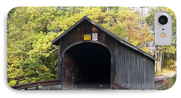Babbs Covered Bridge IPhone Case by Catherine Gagne