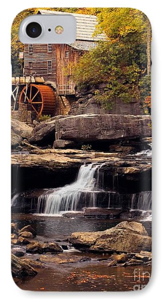 Babcock Grist Mill And Falls Phone Case by Jerry Fornarotto