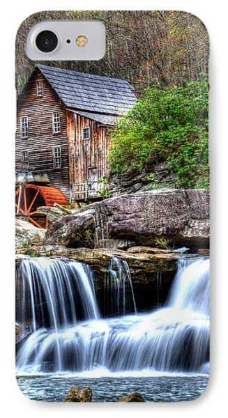 Babcock Grist Mill IPhone Case by Mark Bowmer