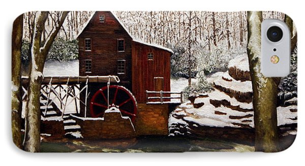 Babcock Mill In The Snow Phone Case by Timothy Smith