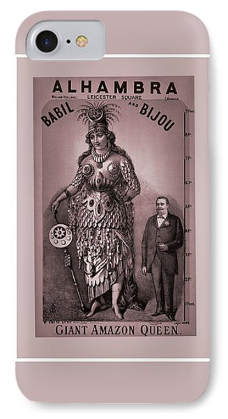 Babil And Bijou - Giant Amazon Queen IPhone Case by Maciek Froncisz
