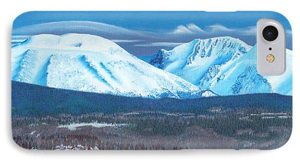 Babine Mountain Range IPhone Case