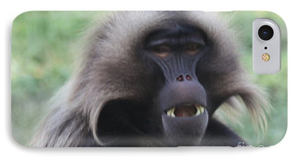 IPhone Case featuring the photograph Baboon by John Telfer