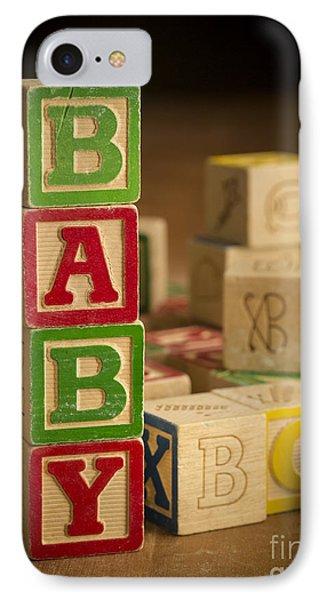 Baby Blocks Phone Case by Edward Fielding