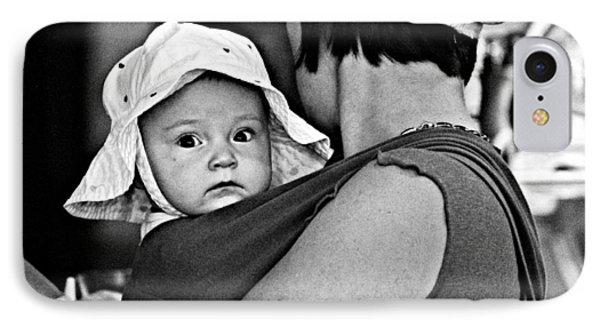 Baby Blue Bonnet IPhone Case