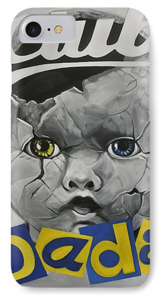 Baby Dada IPhone Case by Steve Hunter