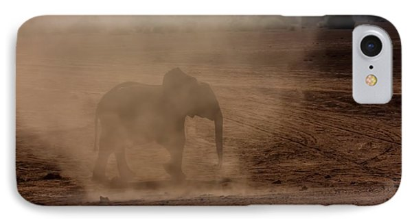 IPhone Case featuring the photograph Baby Elephant  by Amanda Stadther