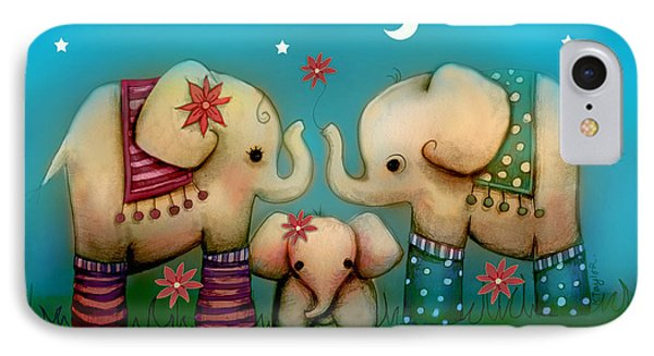 Baby Elephant IPhone Case by Karin Taylor