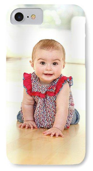 Baby Girl IPhone Case by Ian Hooton