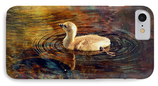 Baby Goose IPhone Case by Maria Angelica Maira
