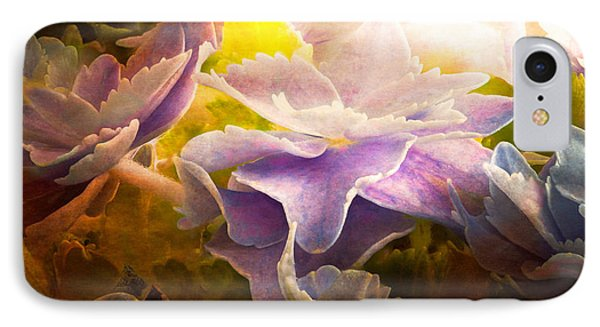 Baby Hydrangeas IPhone Case by Bob Orsillo