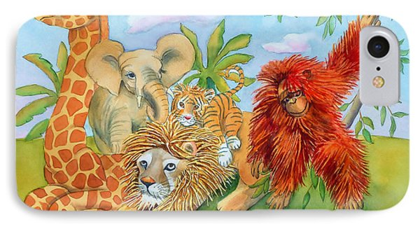 Baby Jungle Animals IPhone Case