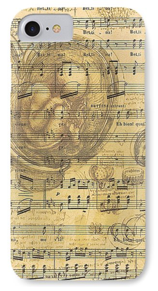 Baby Music IPhone Case by Georgia Fowler