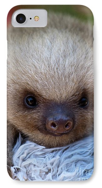 Baby Sloth Phone Case by Heiko Koehrer-Wagner