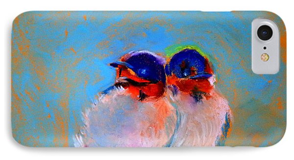 Baby Swallows IPhone Case by Sue Jacobi