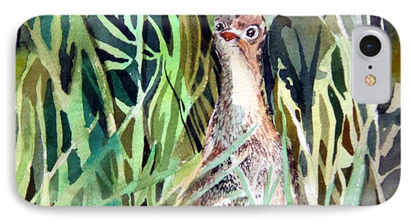 Baby Wild Turkey IPhone Case by Mindy Newman