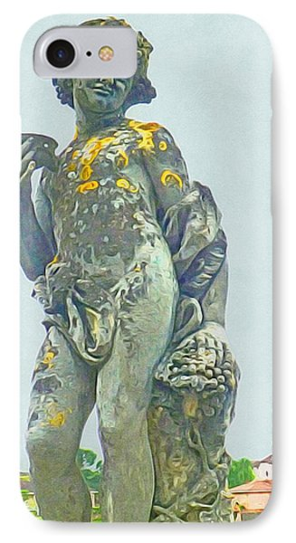 Bacchus At The Bishops Palace IPhone Case by Susan Alvaro