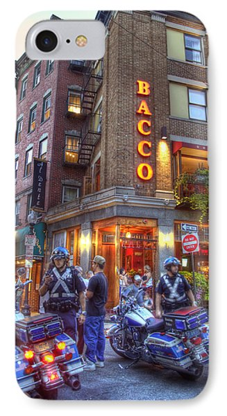 Bacco In The North End Boston IPhone Case