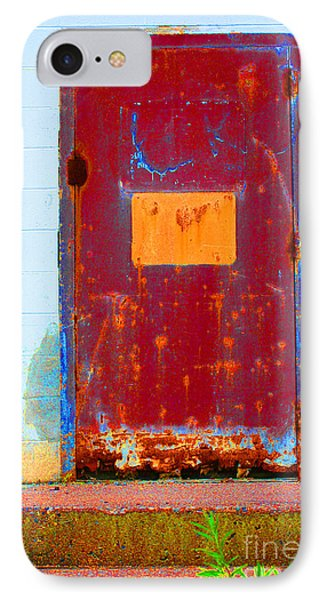 Back Door IPhone Case by Christiane Hellner-OBrien