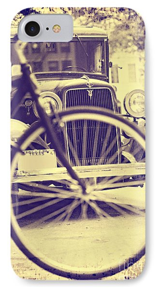 Back In Time IPhone Case by Erika Weber