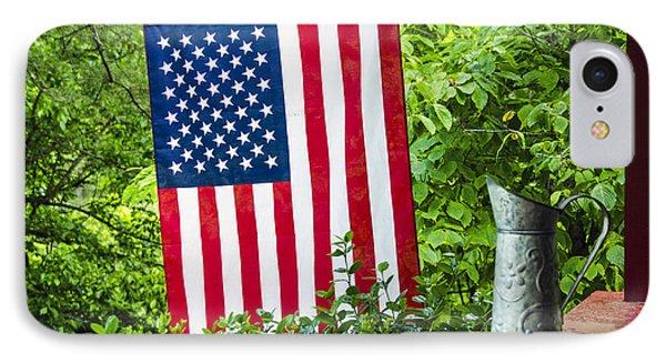 Back Porch Americana Phone Case by Carolyn Marshall