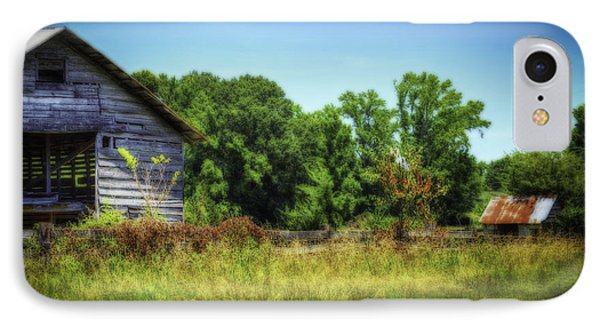 Back Road Barns Phone Case by Barry Jones