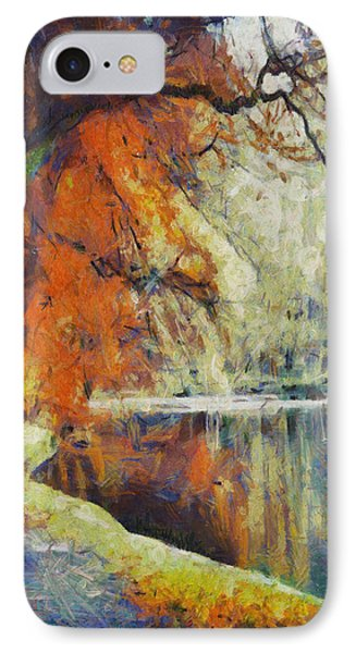 IPhone Case featuring the painting Back To Our Dreams by Joe Misrasi
