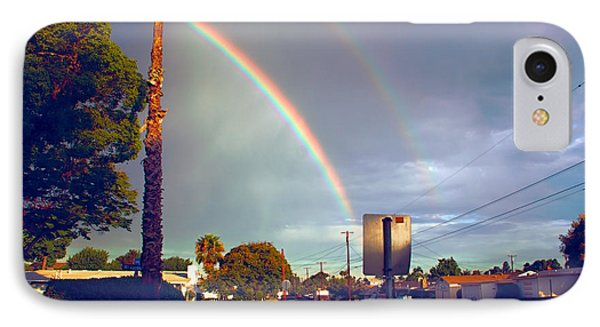IPhone Case featuring the photograph Back To School Rainbow by Jeremy McKay