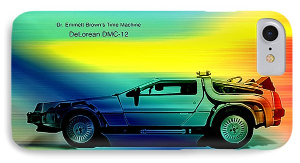 Back To The Future IPhone Case by Marvin Blaine