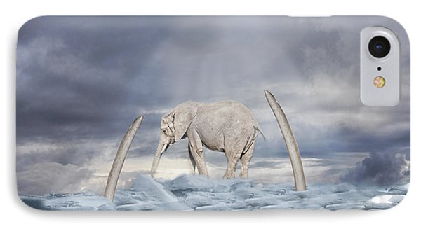 Back To The Ice Age IPhone Case by Angel Jesus De la Fuente