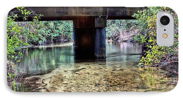 Back Water River Bridge IPhone Case