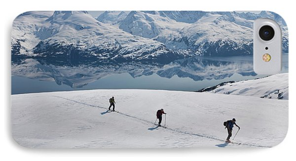 Backcountry Skiing In Prince William IPhone Case