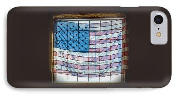 Backlit American Flag IPhone Case