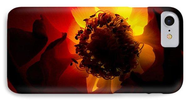 Backlit Flower Phone Case by Fabrizio Troiani
