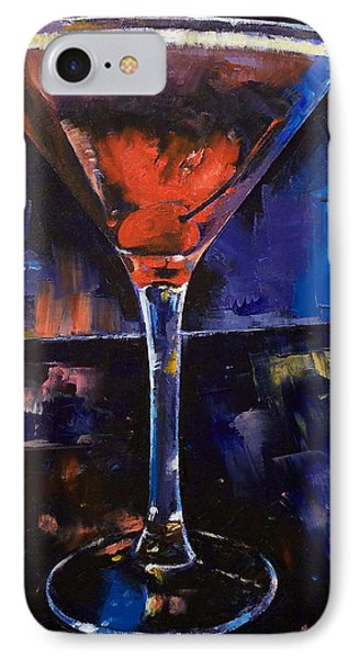 Backstage Martini IPhone 7 Case by Michael Creese