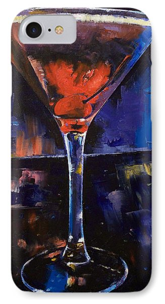 Backstage Martini IPhone Case by Michael Creese