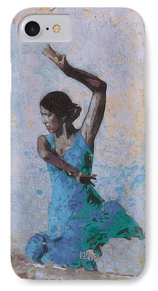 Backstreet Dancer In Horta IPhone Case by Susan Alvaro