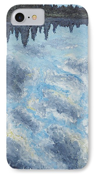 Backwater Reflections Phone Case by Monica Veraguth