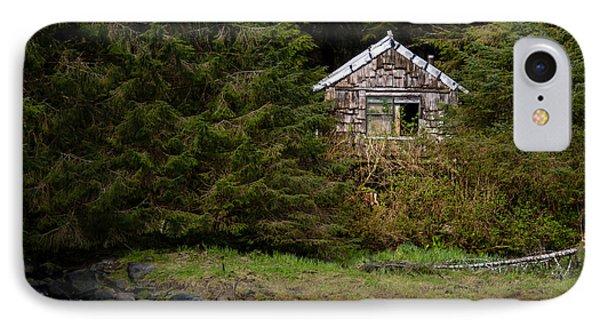 Backwoods Shack IPhone Case by Melinda Ledsome