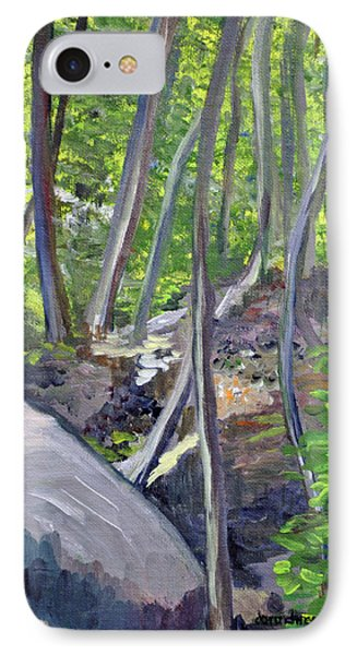 Backyard At Sussex 1 IPhone Case by Dottie Branchreeves