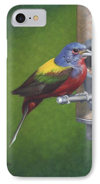 Backyard Bunting IPhone Case