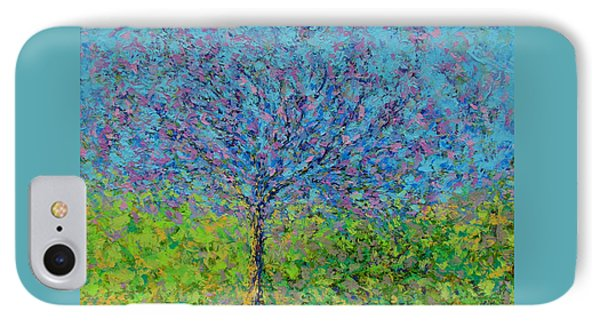 Purple Tree Phone Case by Kat Griffin